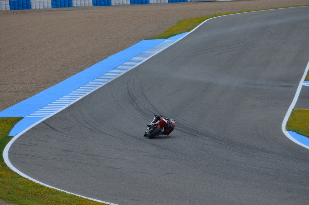 Het beroemde Jerez de la Frontera Circuit. Jerez, Spanje, Andalusië.