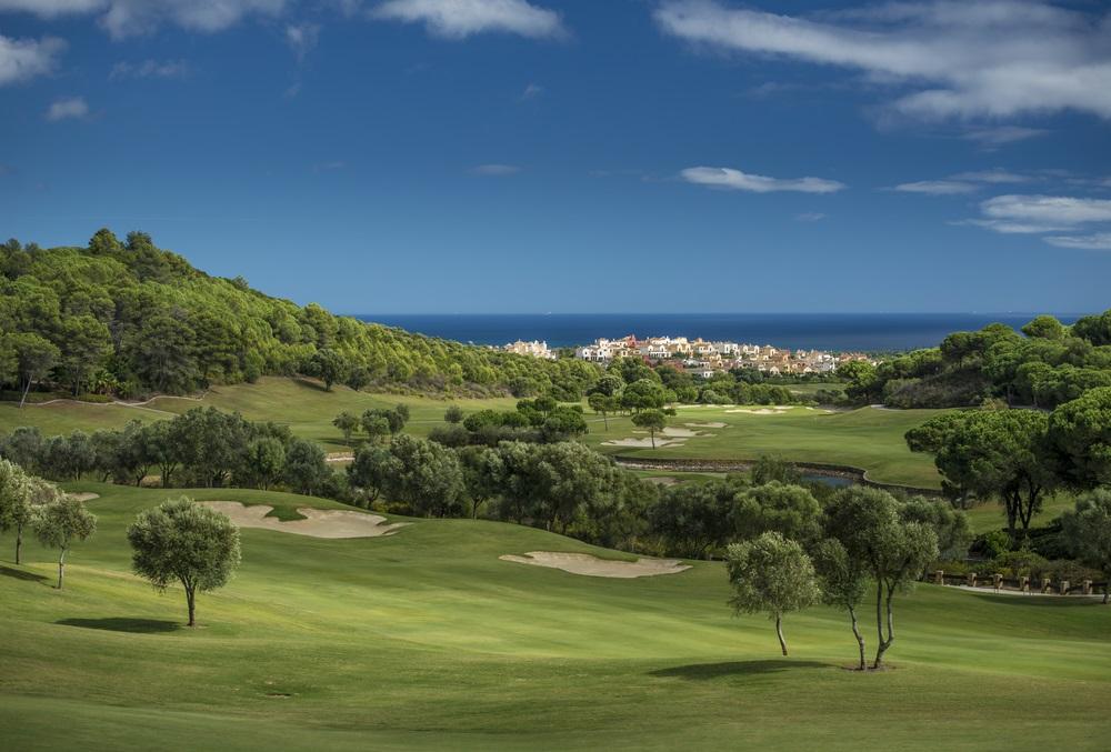 Golfbaan in Marbella; een van de beste van het land. Golfvakantie Andalusië.