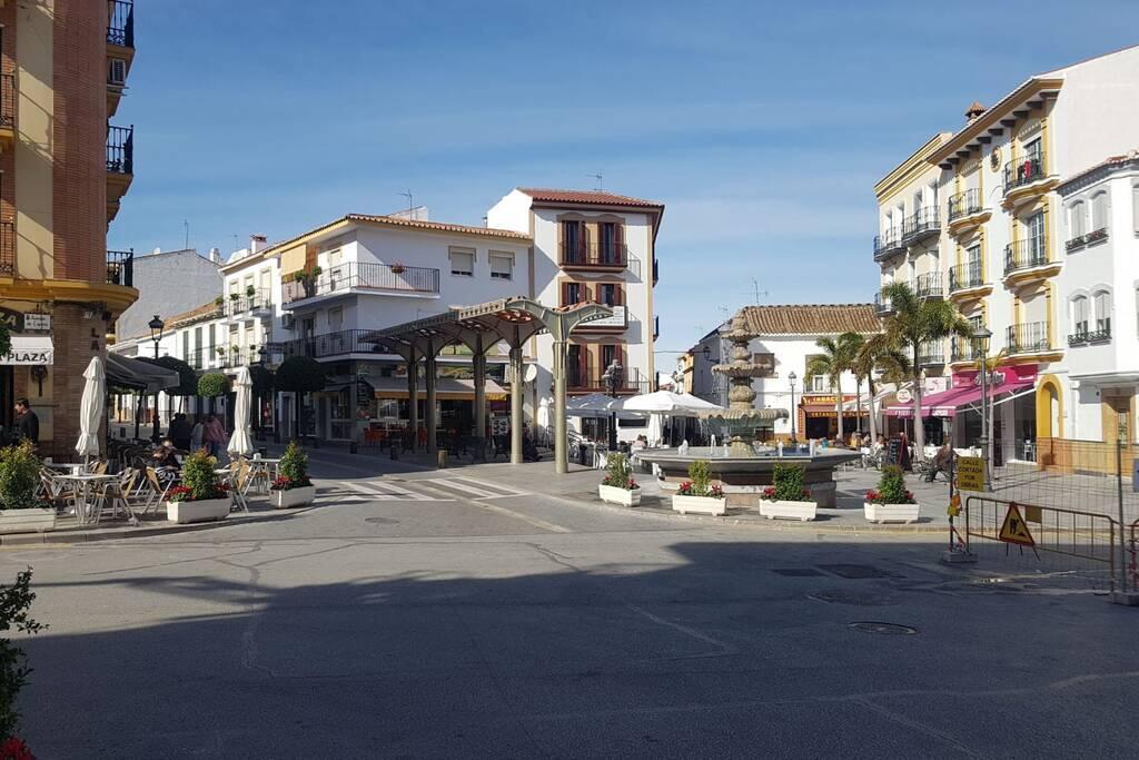 Het oude centrum van Alhaurin de la Torre, Andalusië, Spanje.